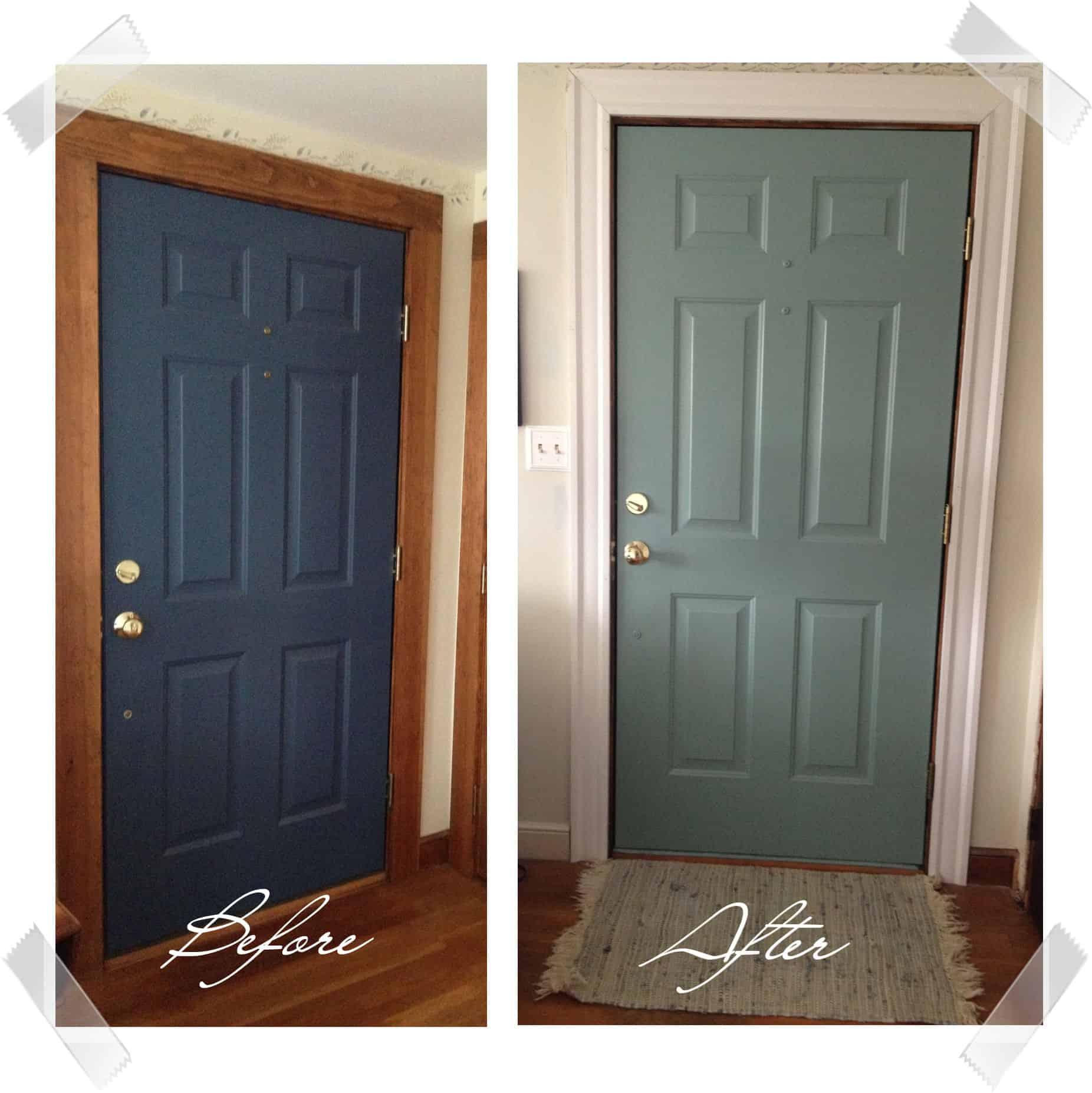 diy painted door wife in progress. Black Bedroom Furniture Sets. Home Design Ideas