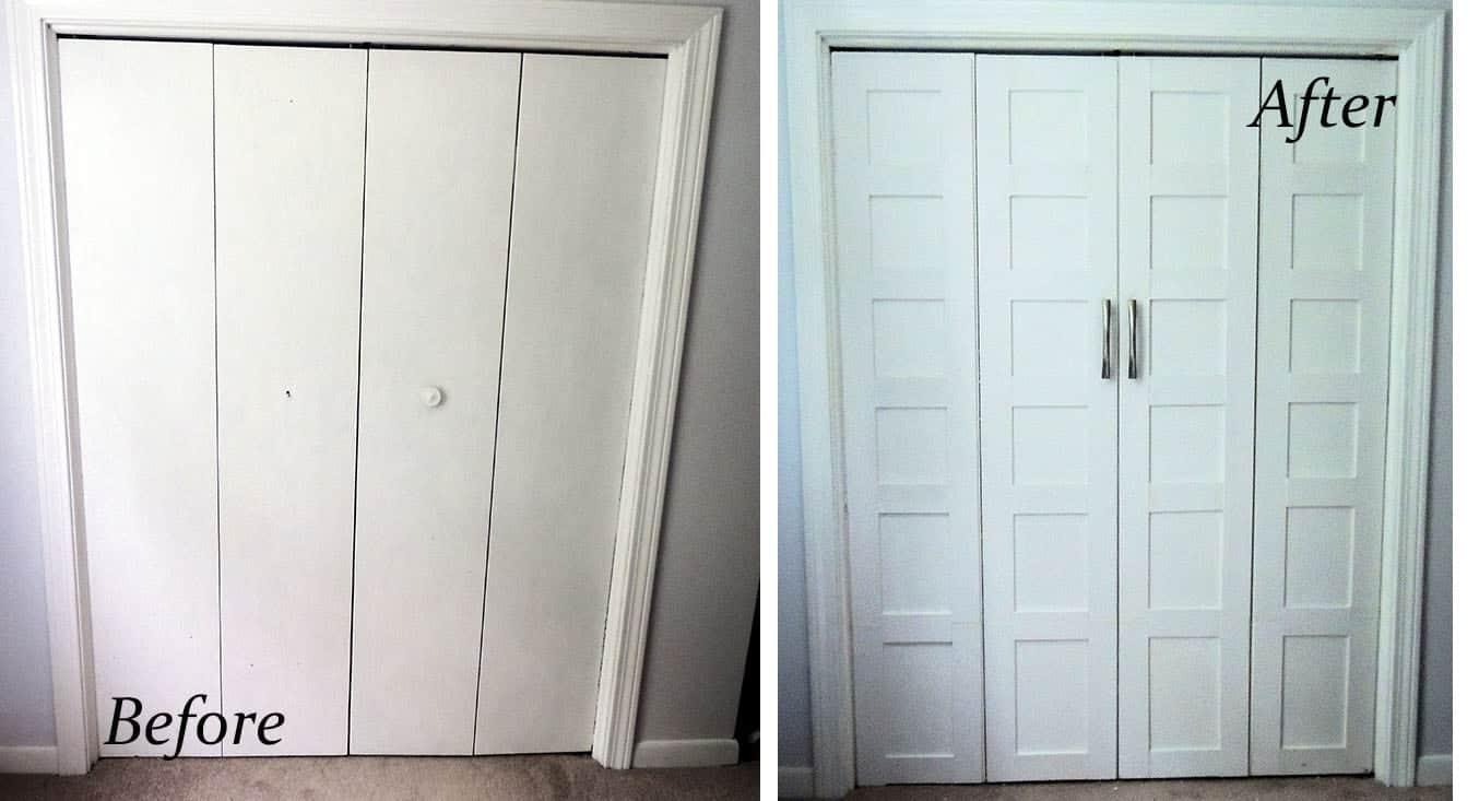 Master Bedroom Closet Face Lift Wife In Progress