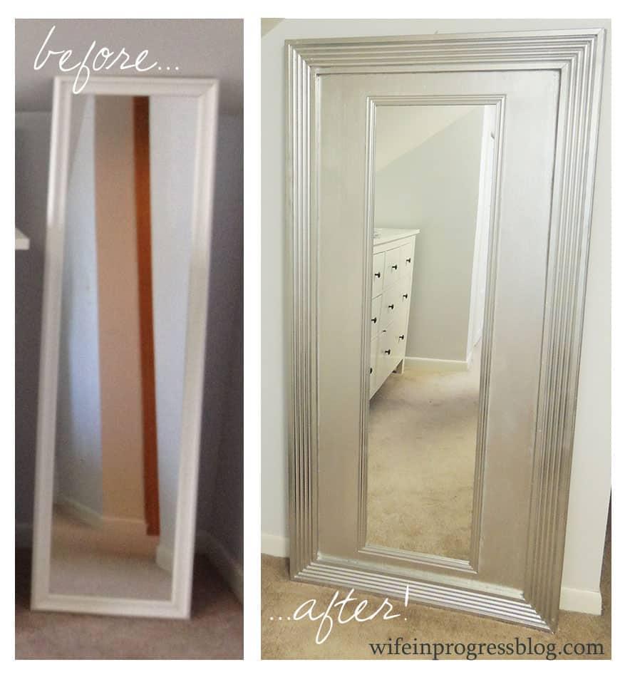 $20 DIY Mirror | Wife in Progress