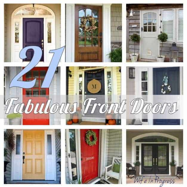 For Your Inspiration 21 Fabulous Front Doors Wife In