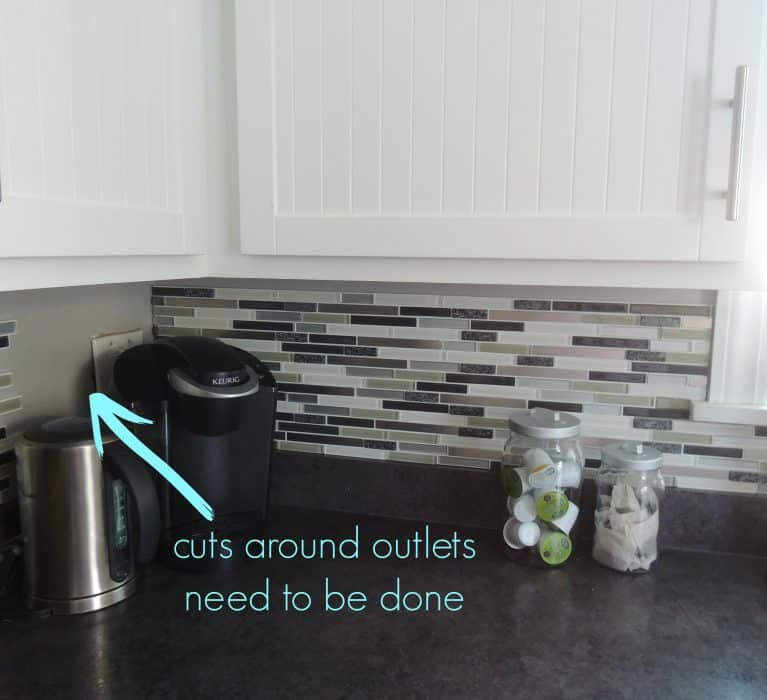 outlets to be tiled around