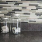 peel and stick backsplash tile | Wife in Progress