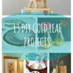 13 DIY Gold Leaf Projects