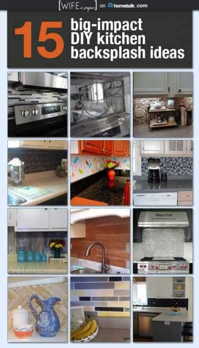 15 Diy Kitchen Backsplash Ideas Wife In Progress