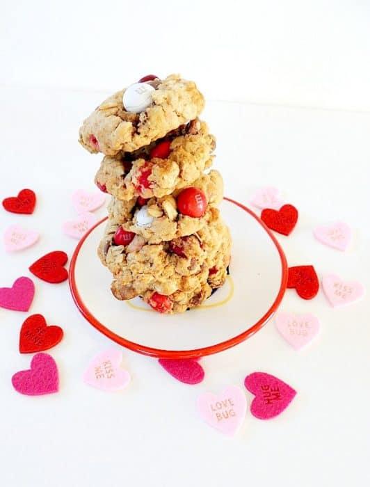 M&M's® Red Velvet cookies| wifeinprogressblog.com #shop #cbias