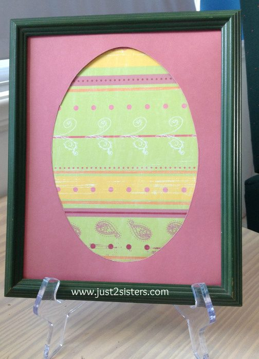 framed egg
