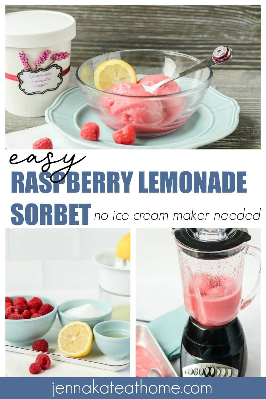raspberry lemon sorbet