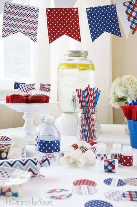Patriotic-Party-Printables-with-cupcake-toppers-printable