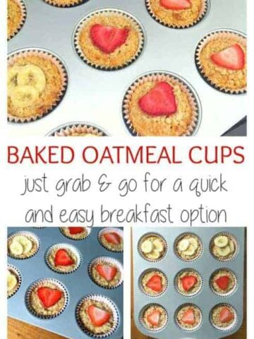 Baked Oatmeal Cups