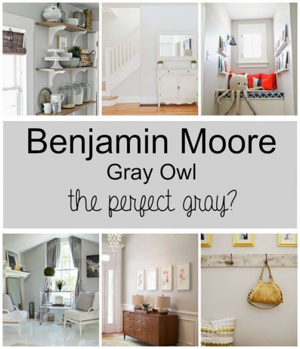 paint colors: gray owlbenjamin moore - wife in progress