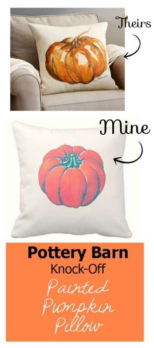 pottery barn knock-off pillow | WifeinProgressBlog.com