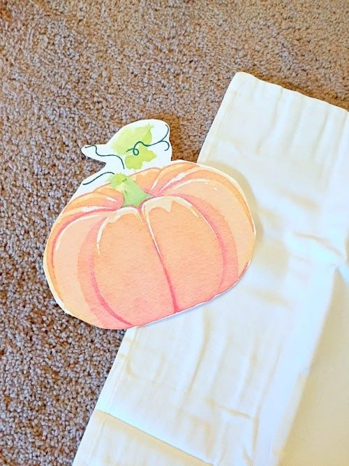 pottery barn knockoff pumpkin pillow
