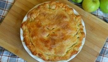 Granny's Puff Pastry Apple Pie