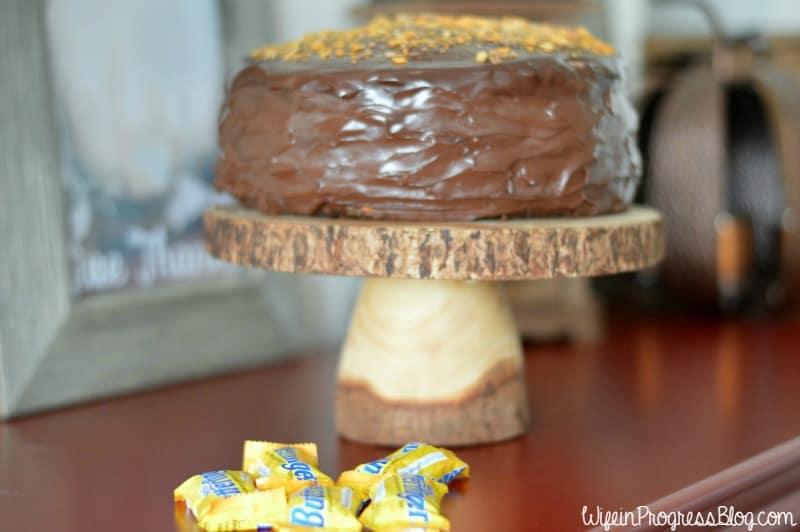 chocolate caramel crunch cake   Wife in Progress