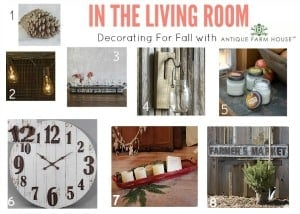Rustic Farmhouse Fall Decorating