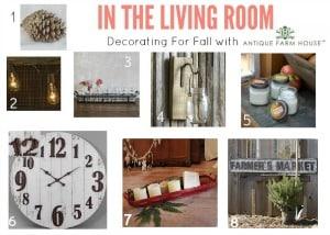 Rustic Farmhouse Fall Decorating
