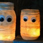 DIY Mummy Luminary