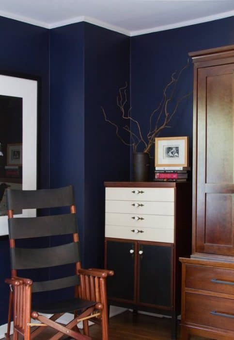 On Trend Navy Rooms