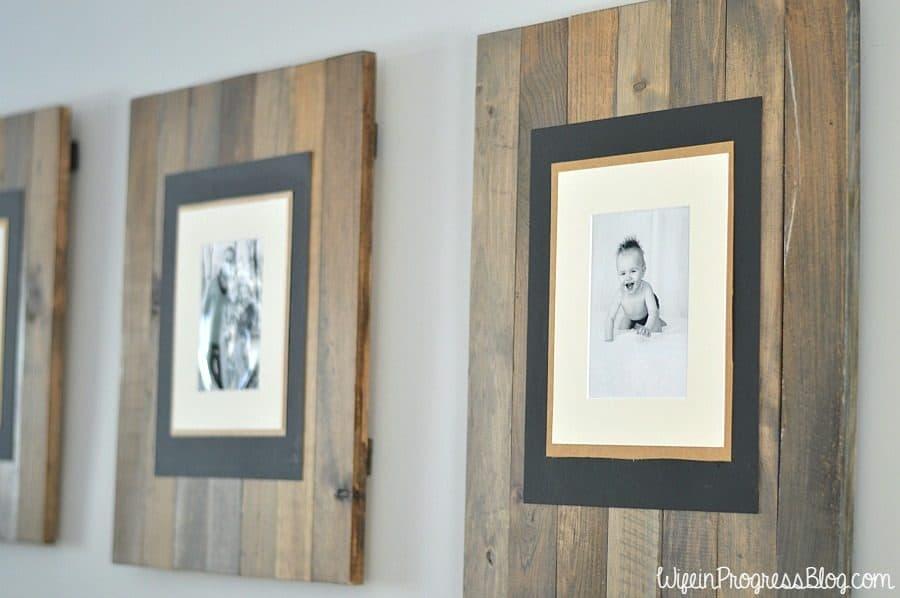 creative picture frame DIY tutorial