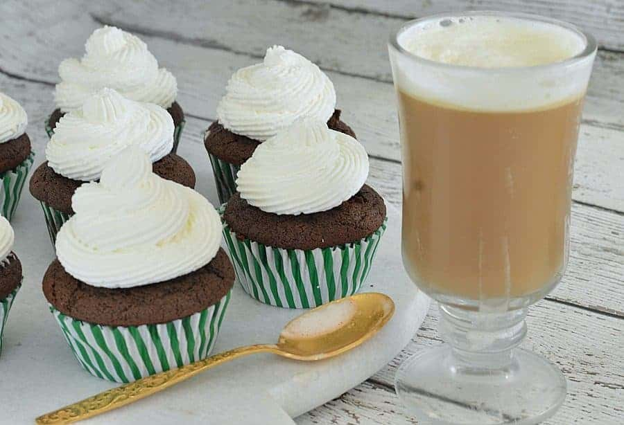 Irish Coffee Cupcakes - Wife in Progress