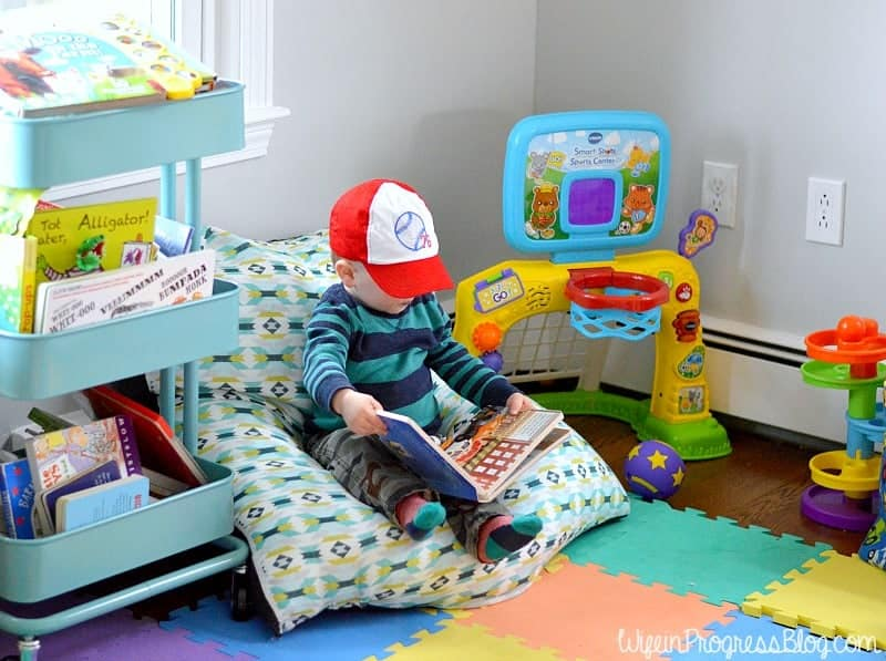 DIY Toddler Bean Bag Chair