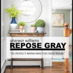 Sherwin Williams Repose gray is a warm gray