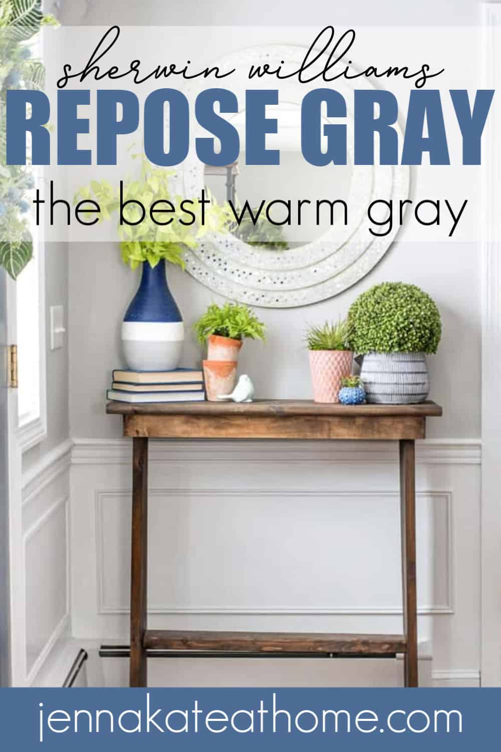 sherwin williams repose gray pinterest