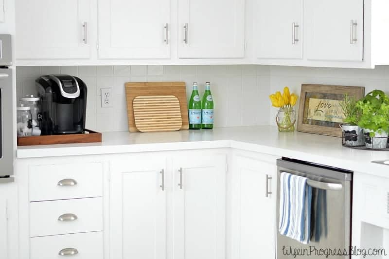 How To Paint Kitchen Cabinets Without Sanding Wife In