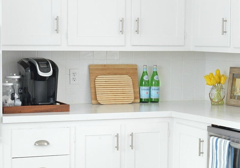 The best paint for cabinets may include a product like oil bond or hard coat