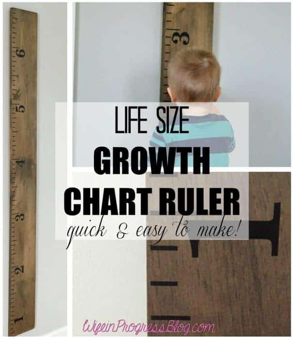 Life Size Ruler A 6 Ft Growth Chart For Your Child