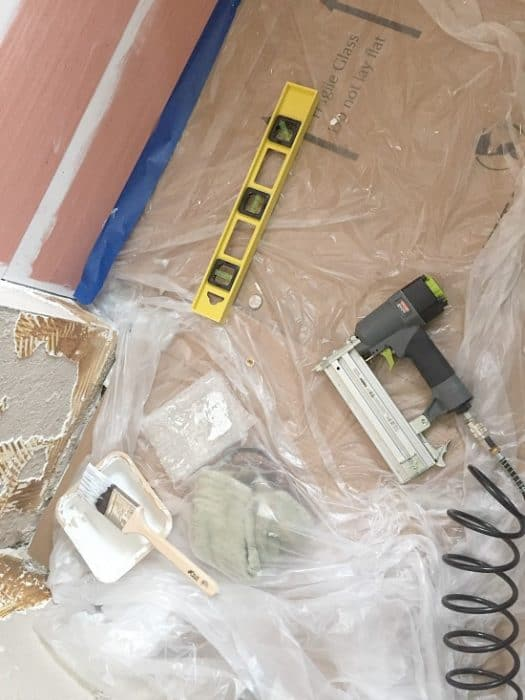 Tools needed to install shiplap