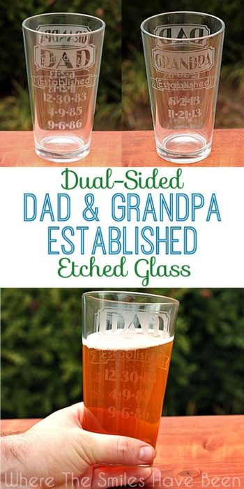 These make cute father's day gifts!