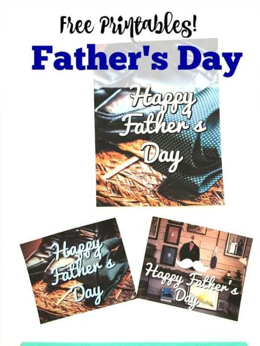 These free Father's Day printables are perfect for when you can't find the right Father's Day card for Dad