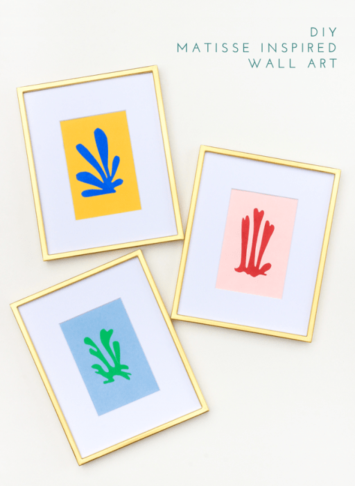 Matisse Inspired Wall Print