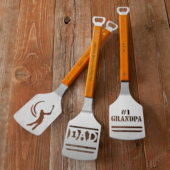 personalized grill tools fathers day gifts