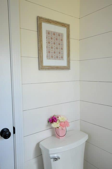 Powder Room Bathroom Makeover