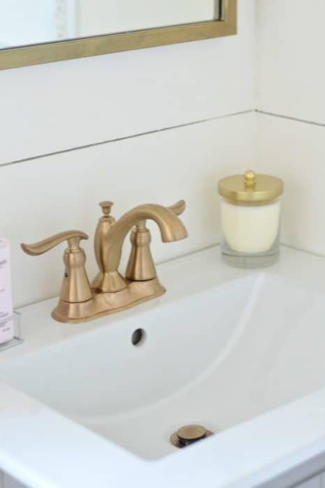 Bathroom Reveal - One Room Challenge