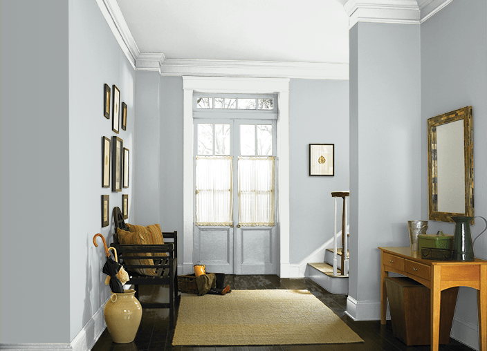 The Best Blue/Gray Paint Colors - Behr Light French Gray