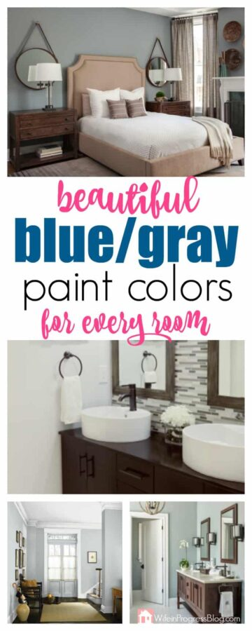 The Best Blue Gray Paint Colors for Any Room in Your Home.