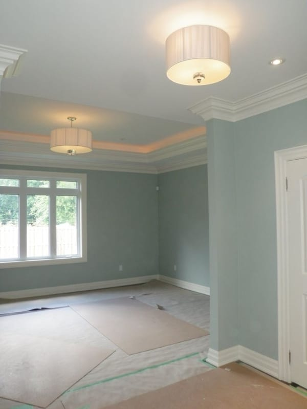Benjamin Moore Silver Marlin Bedroom