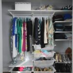 rotate clothes out of your closet seasonally to free up space