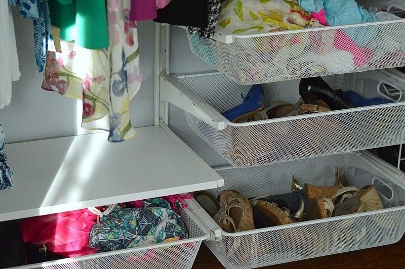 Get your closet organized with a DIY IKEA closet system