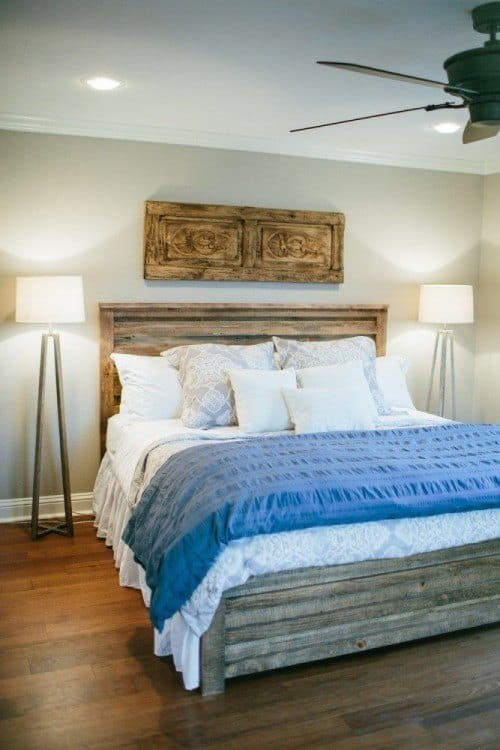 Joanna gaines fixer upper style recreate her bedroom makeovers Fixer upper master bedroom pictures