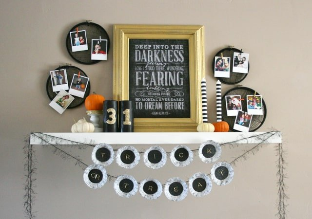 Halloween Decor: 20 Fang-tastically decorated Halloween mantels