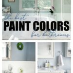 the best paint colors for bathrooms