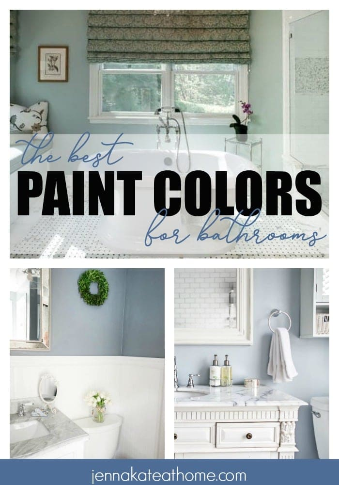 The best paint colors for bathrooms in 2018. Which is your favorite?