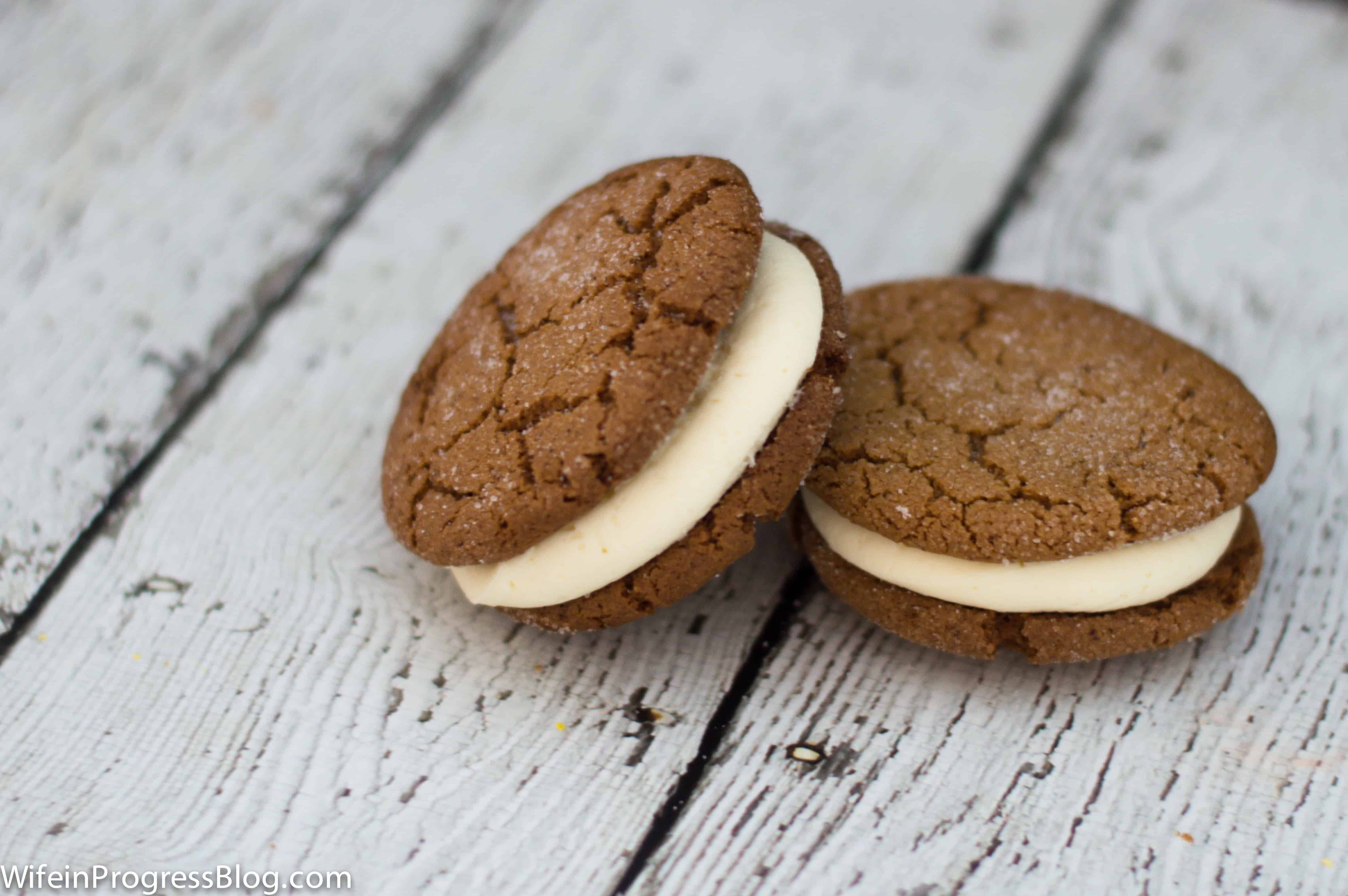 A declicious gingersnap cookie recipe that is dairy free, crunchy yet chewy and cracks beautifully on top! It's the perfect cookie for the holidays!
