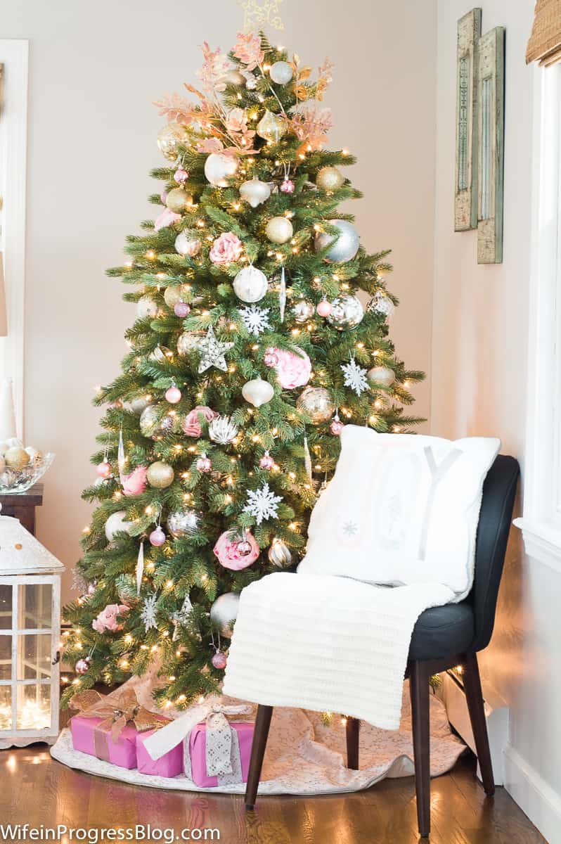 My Pink Christmas Tree