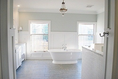 The best bathroom paint colors wife in progress for Master bathroom colors 2016