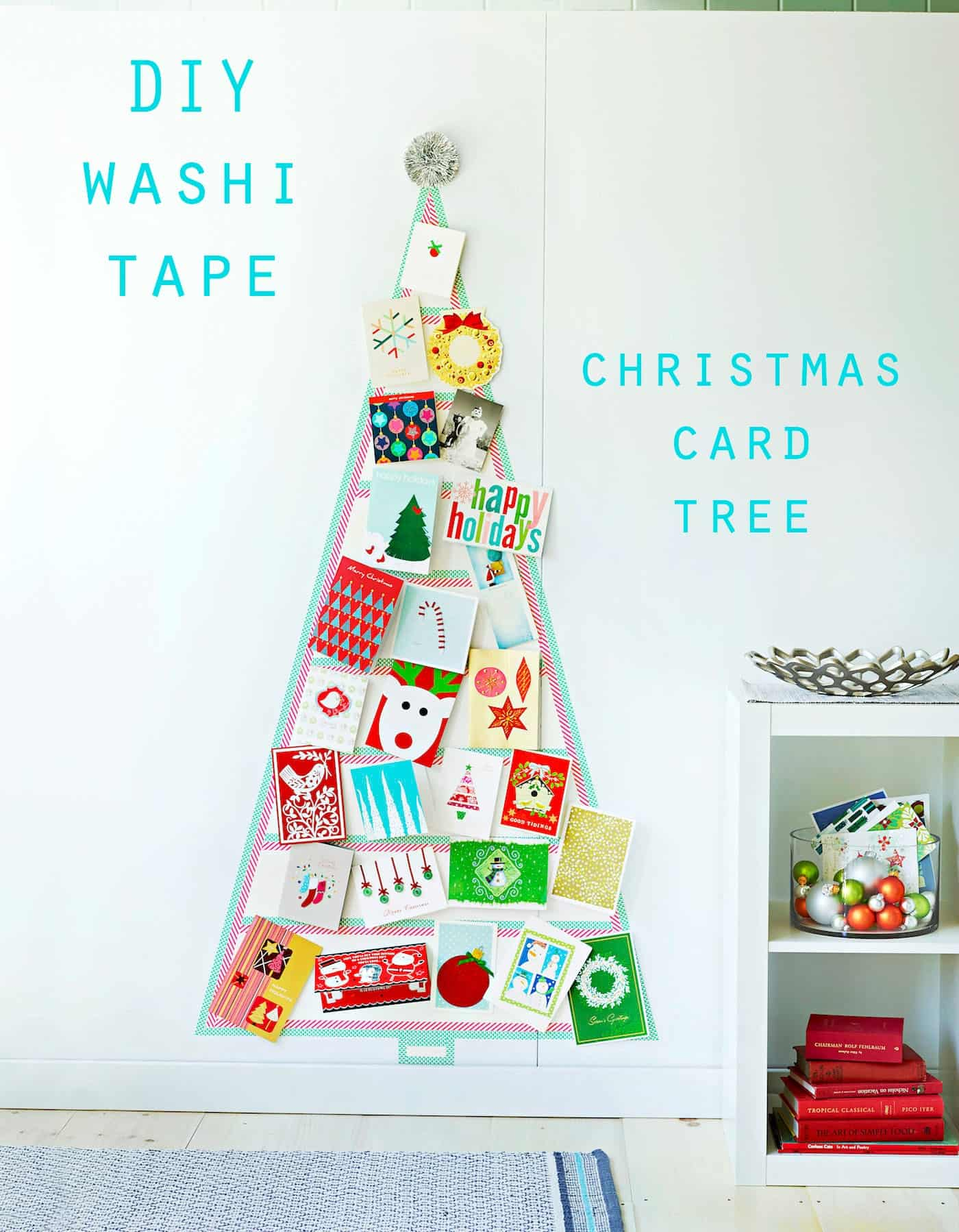Diy washi tape christmas card tree wife in progress diy washi tape christmas card tree kristyandbryce Choice Image